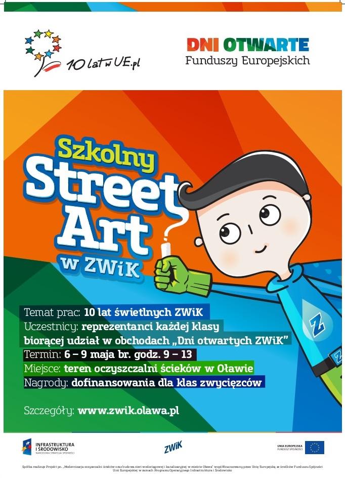 SZKOLNY STREET ART W ZWIK