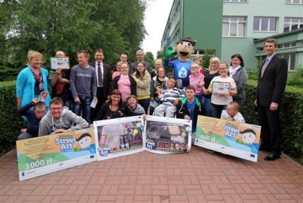 2014.06.02 Szkolny konkurs Street Art ZWiK - rozdanie nagród ZSS